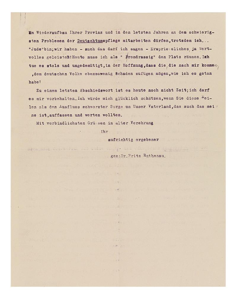 Briefe Von Creditreform : Jüdisches museum berlin online schaukasten brief von