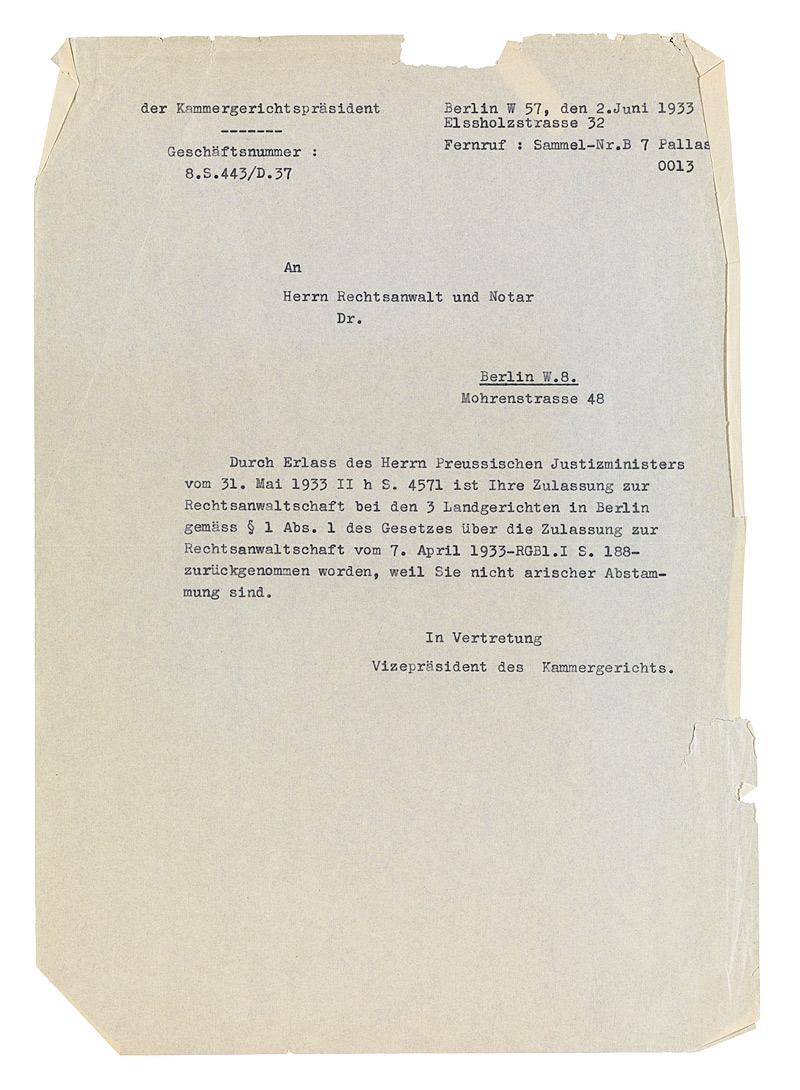Jüdisches Museum Berlin Online Schaukasten Schreiben An Adolf
