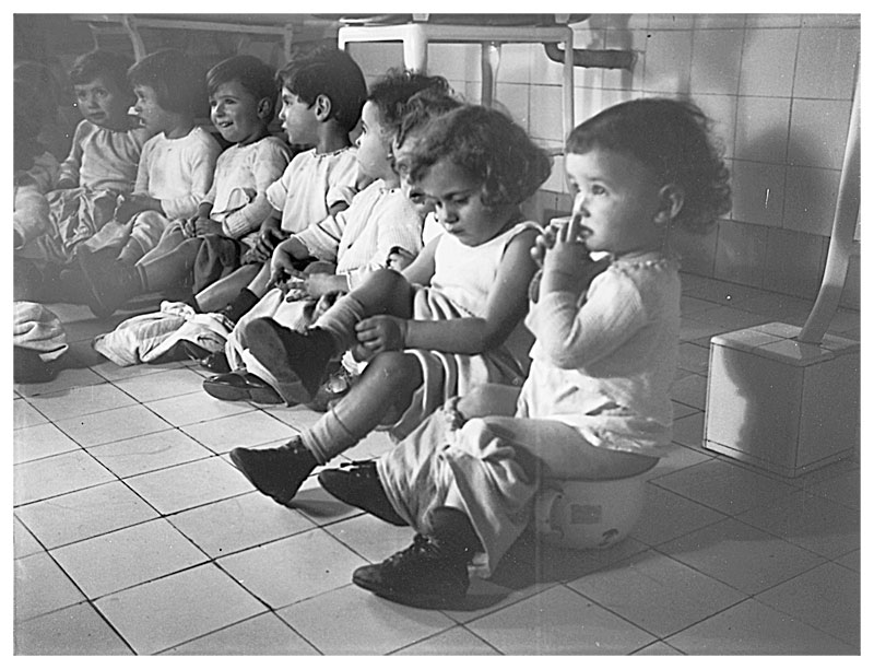 The daycare center of the Jewish Children's Relief Organization in ...