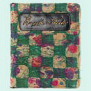 "Notebook with a colorful binding embossed with the words ""Concerts and Theater"""