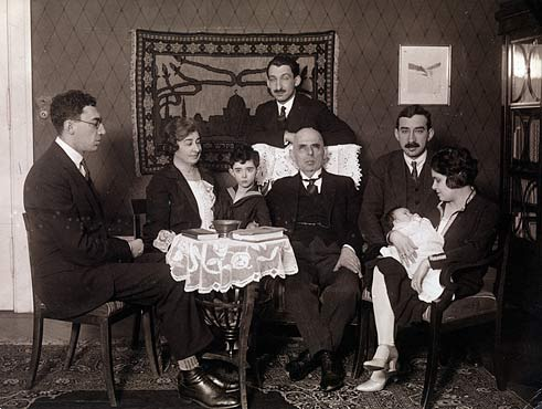 Photo of family with baby