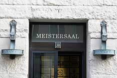 Door with the lettering �Meistersaal�