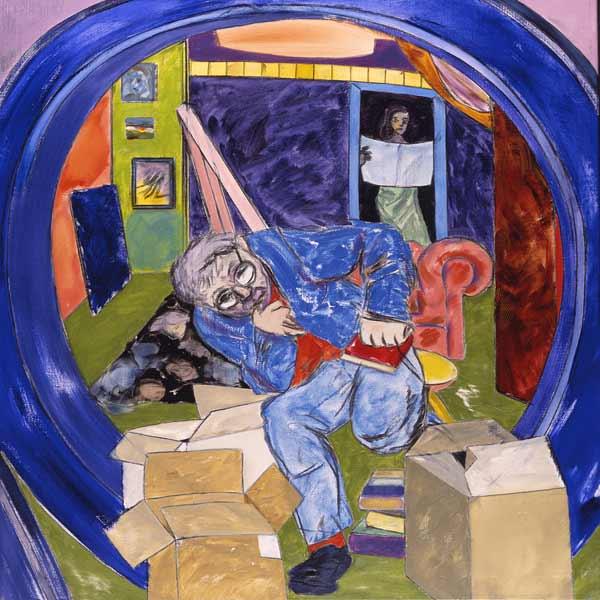 Ronald Kitaj Famous Paintings