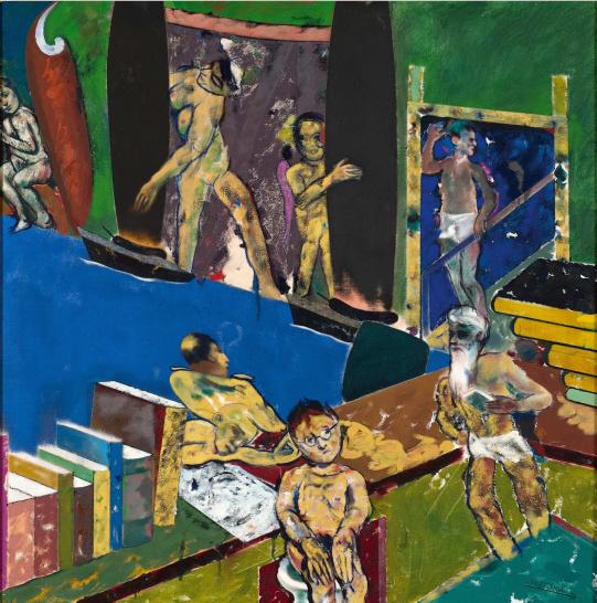 Exposition Art Blog: Ronald Brooks Kitaj