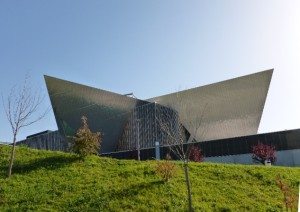 Westside, Libeskind's shopping mall outside of Berne, Switzerland