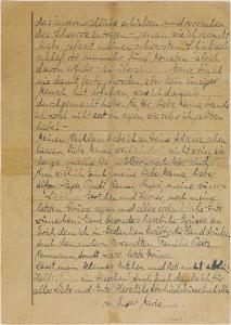 Farewell letter from Marianne Joachim