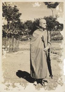 Bhikkhu Nyanaponika alias Siegmund Feniger in Sri Lanka