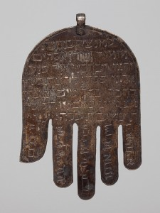 Amulet in shape of a hand