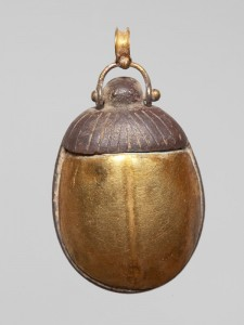 Amulet in shape of a scarab