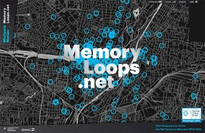 "Screenshot of the website ""memoryloops"""