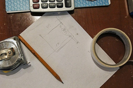 Paper, pencil and a calculator