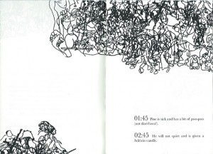 other pages of the booklet