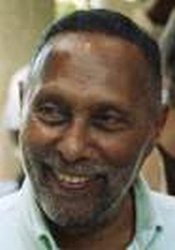 Portrait of Stuart Hall