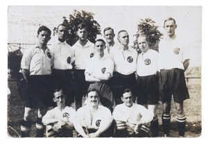 Photograph of a soccer team