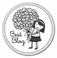 Logo of the best blog award