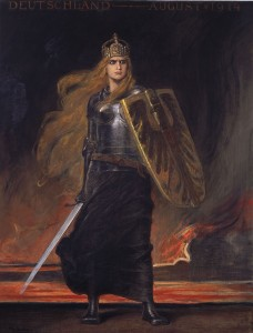 Germania. Friedrich August von Kaulbach, oil on canvas, Germany 1914 © Stiftung Deutsches Historisches Museum