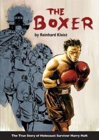 Cover of the Graphic novel 'The Boxer'