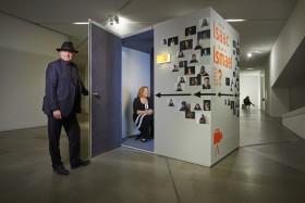 Video box with Peter Greenaway and Saskia Boddeke