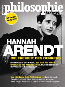 Cover of the special issue on Hannah Arendt of Philosophie Magazin
