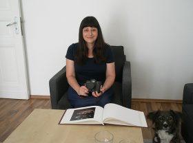 The artist Daniela Orvin
