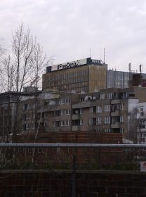 Photo of buildings in Berlin's Kreuzberg-Mitte district