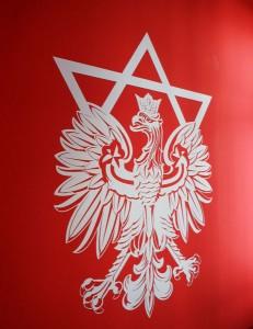 Emblem mit Davidstern