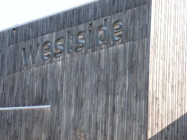 Beschriftung von Westside