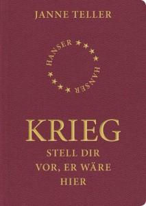 Das Buchcover in Format und Farbgebung eines Reisepasses