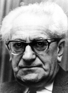 Porträt von Fritz Bauer