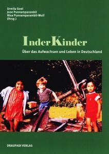 Buchcover von »InderKinder« mit einem Foto spielender Kinder