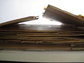 Verpackungen von Schallplatten