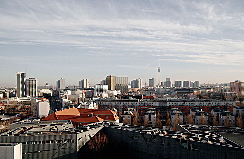 color photograph of the skyline of Berlin
