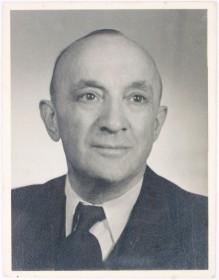Passfoto von Erich Rosenfeld