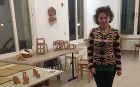 Rachel Kohn in ihrem Atelier