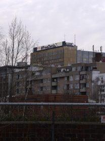 Foto einer Häuserkulisse in Berlin Kreuzberg/Mitte