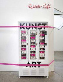 Kunstautomat in der Dauerausstellung