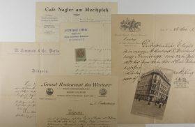 Dokumente und Fotos