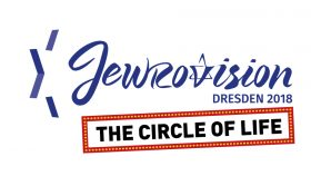 Logo: Jewrovision Dresden 2018: The Circle of Life