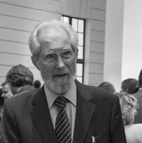 Schwarz-weiß-Portrait von Reinhard Rürup