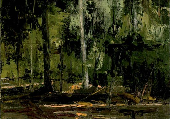 Painting of the forest