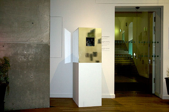raree case (Guckkasten) in the exhibition
