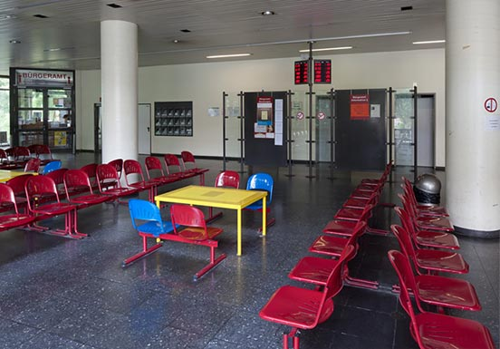 Photo of a waiting room