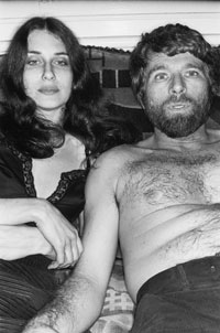 R.B. Kitaj with Sandra