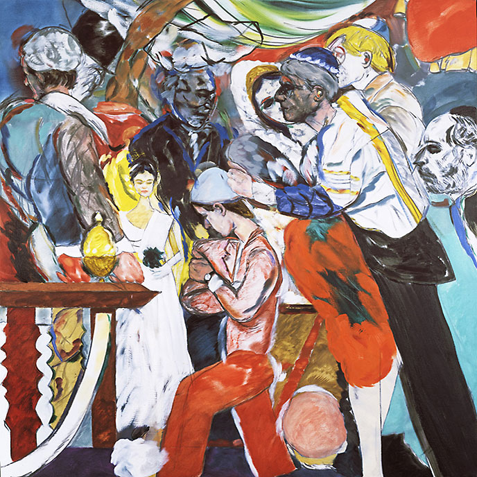 R.B. Kitaj, The Wedding, 1983�1993