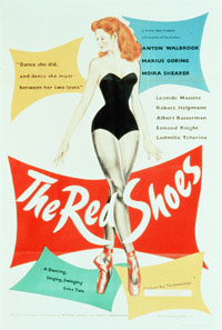 Filmplakat zu �The Red Shoes� von Michael Powell