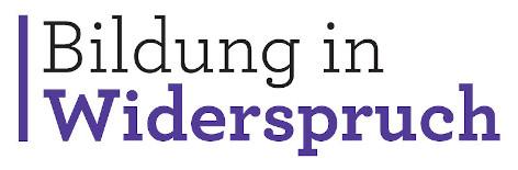 Logo Bildung in Widerspruch