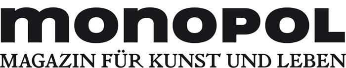 Logo: monopol. Magazin für Kunst und Leben