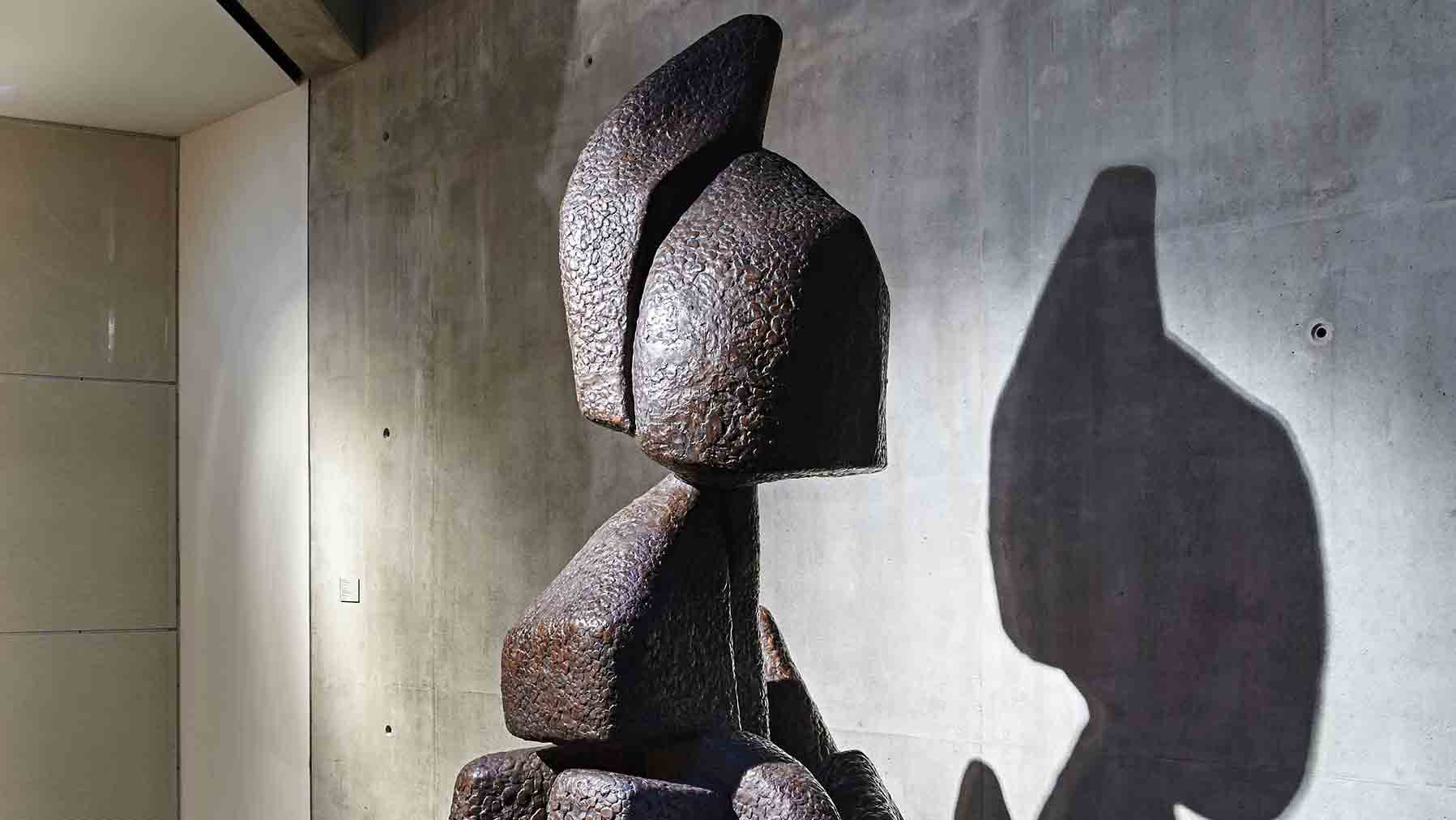 Abstract sculpture by Otto Freundlich