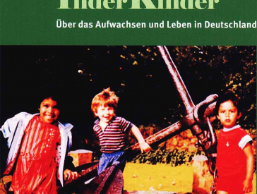 On the cover you can see a photo of three playing children