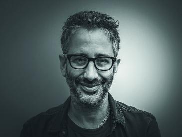 Porträt des Autors David Baddiel